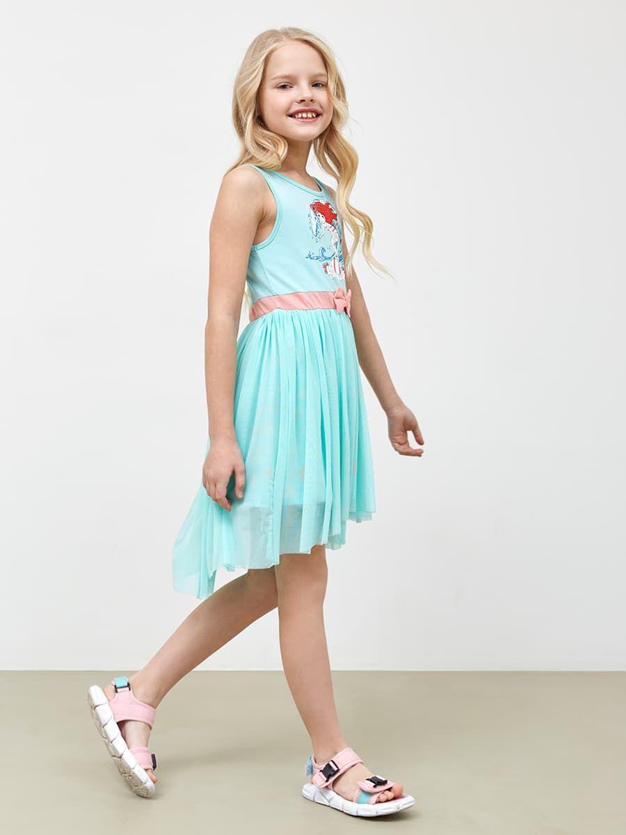 Платье с сеткой для праздников от Mark Formelle