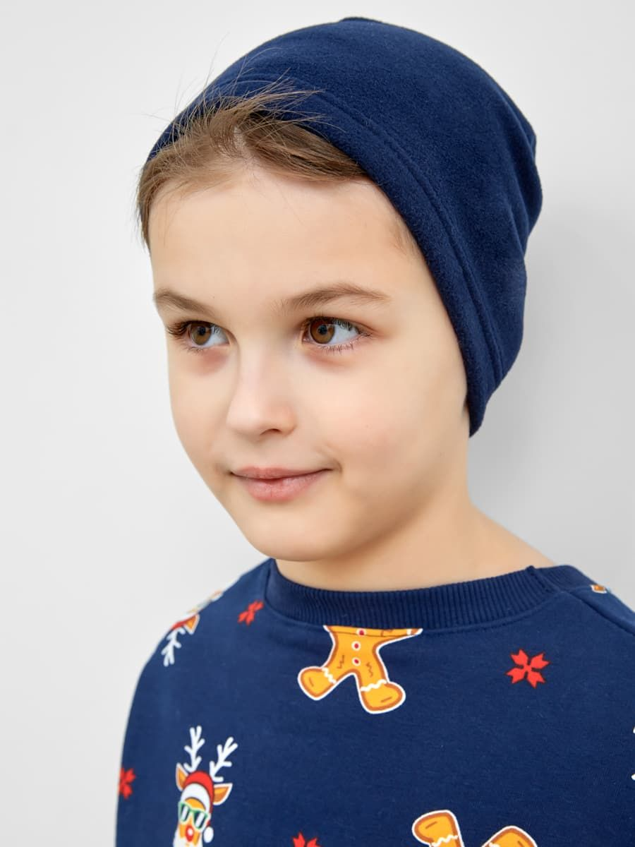 Спортивная детская шапка от Mark Formelle