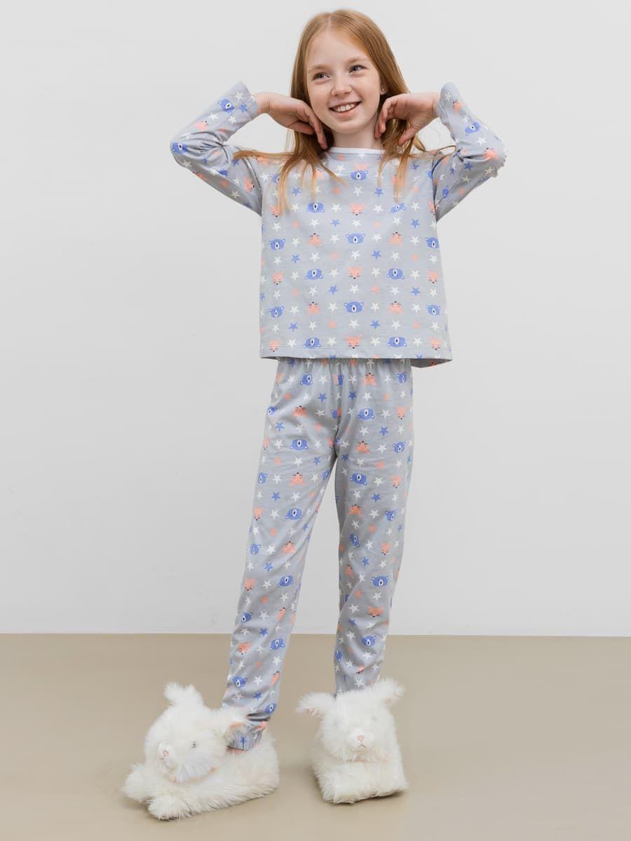 Пижама из лонгслива и брюк от Mark Formelle