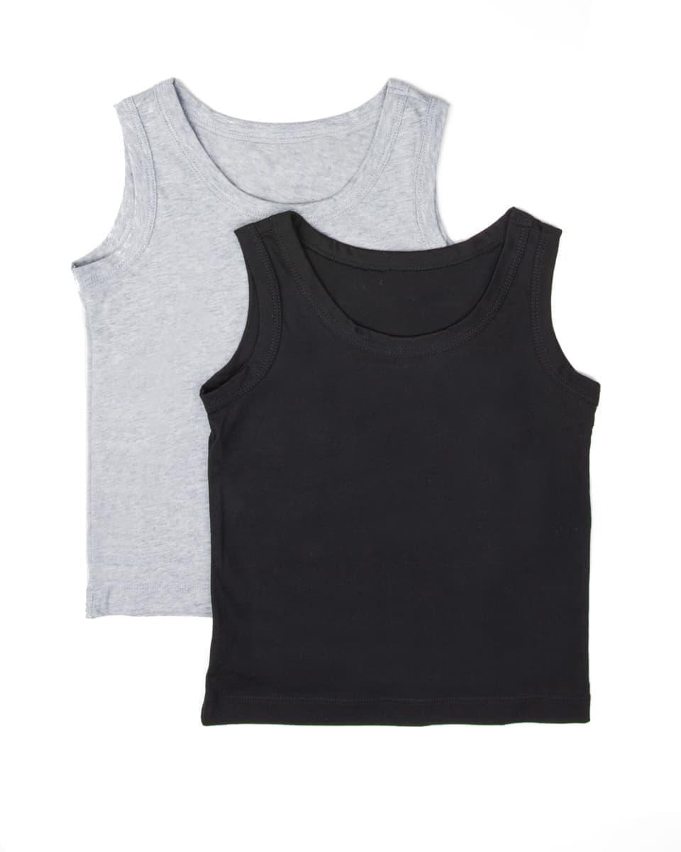Купить МАЙКА  ДЛЯ МАЛЬЧИКОВ (2ШТ) от Mark Formelle серого цвета
