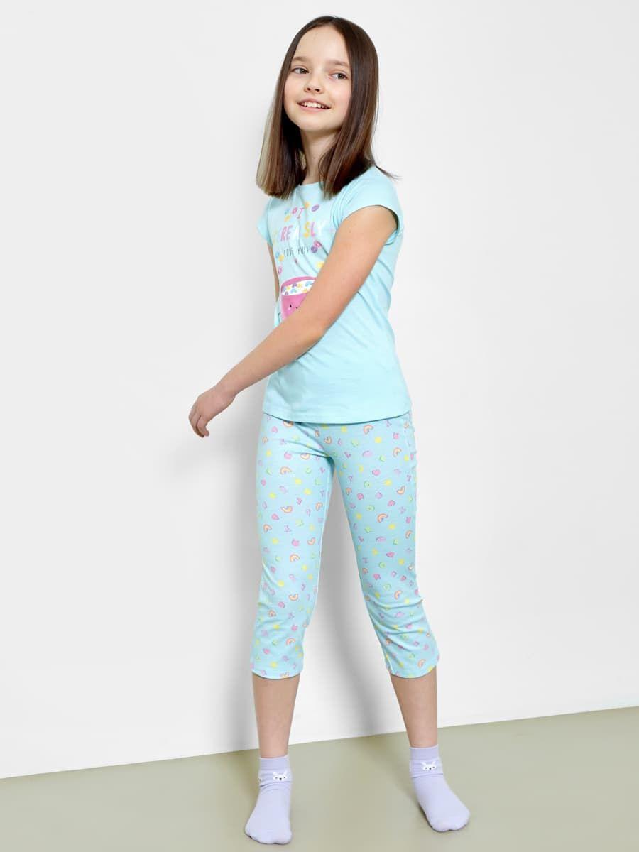 Пижама для девочек (фуфайка и бриджи) от Mark Formelle