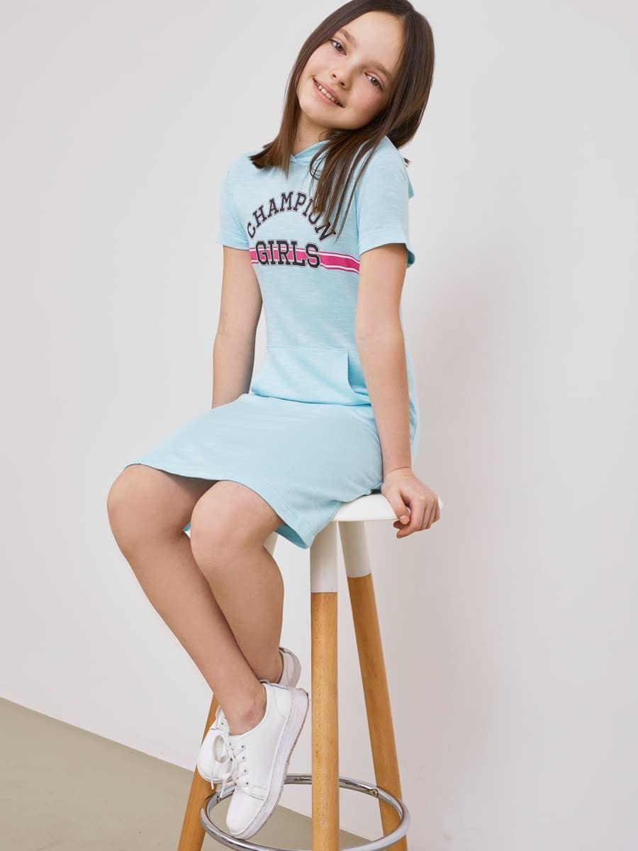 Платье с капюшоном от Mark Formelle