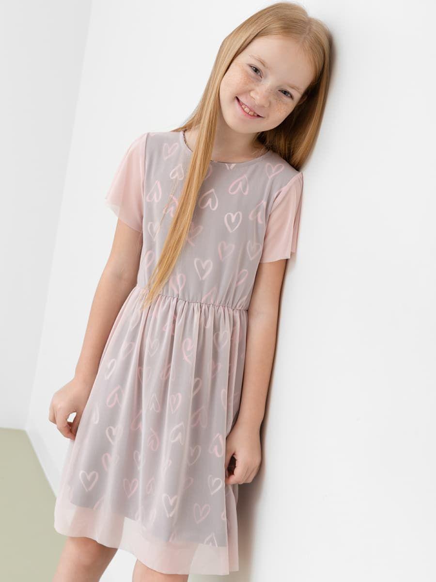 Свободное двухслойное платье от Mark Formelle
