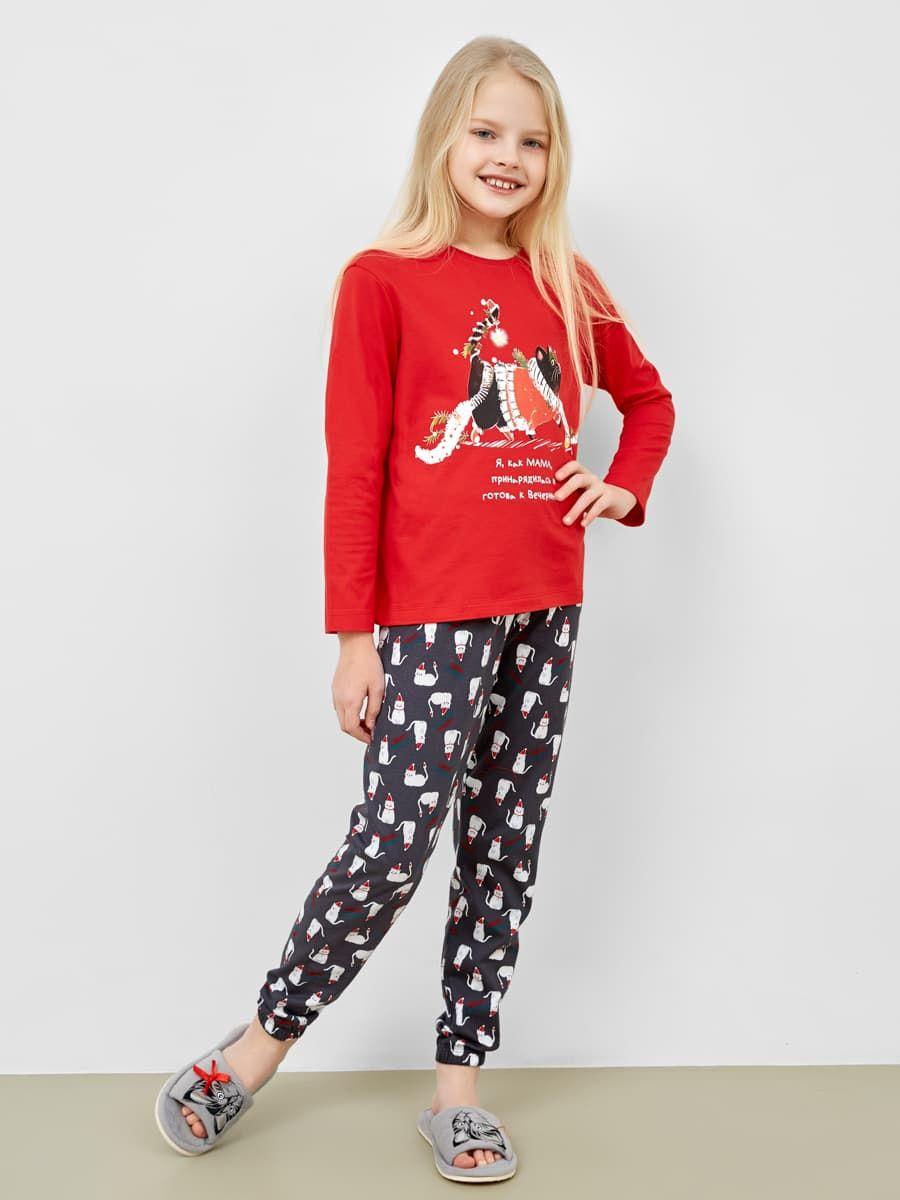 Новогодняя пижама для девочки от Mark Formelle