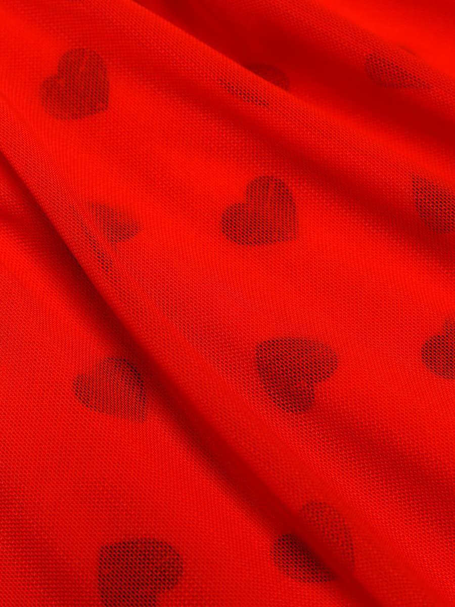 Фото 53 - ПЛАТЬЕ ДЛЯ ДЕВОЧЕК от Mark Formelle красного цвета