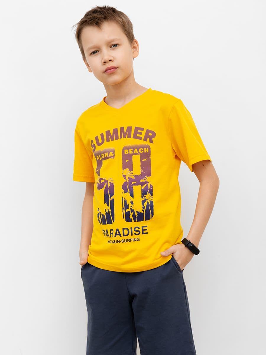 Яркая футболка для мальчиков от Mark Formelle