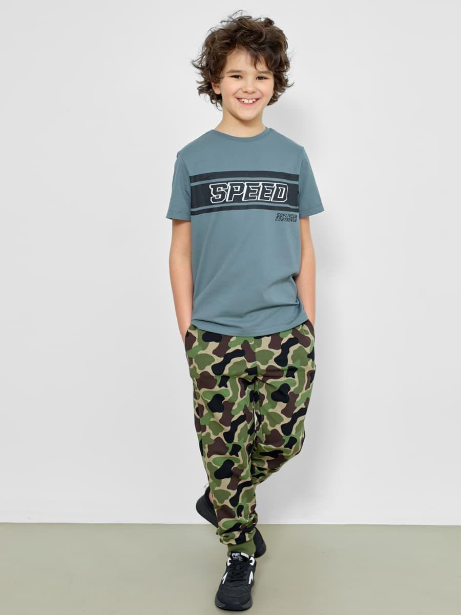 Камуфляжные брюки для мальчика от Mark Formelle