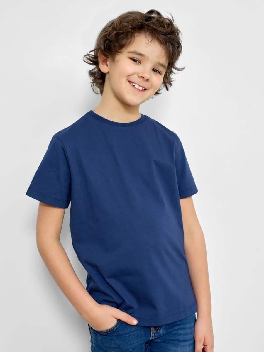 Однотонная футболка для мальчиков от Mark Formelle