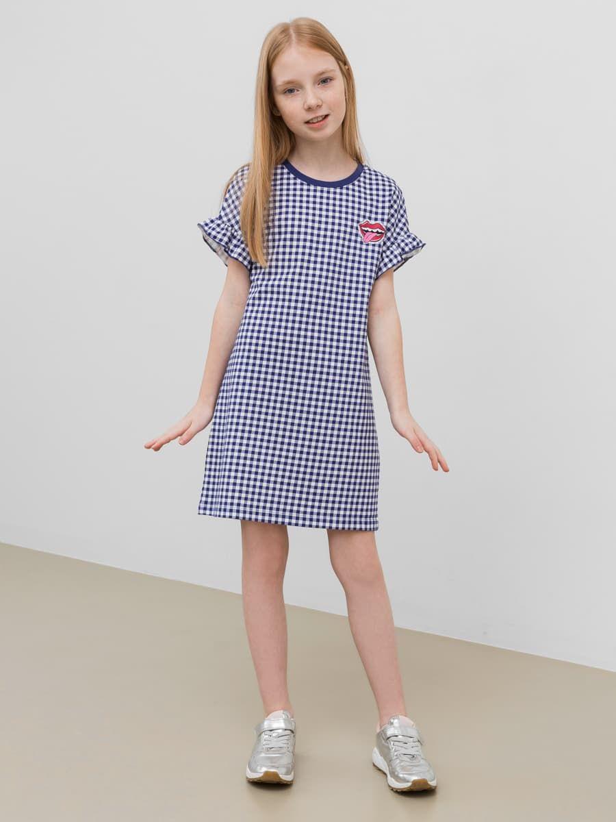 Прямое платье со спущенной линией плеча от Mark Formelle