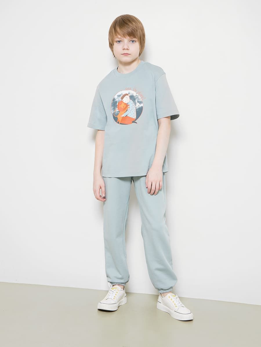 Свободные брюки для мальчиков от Mark Formelle