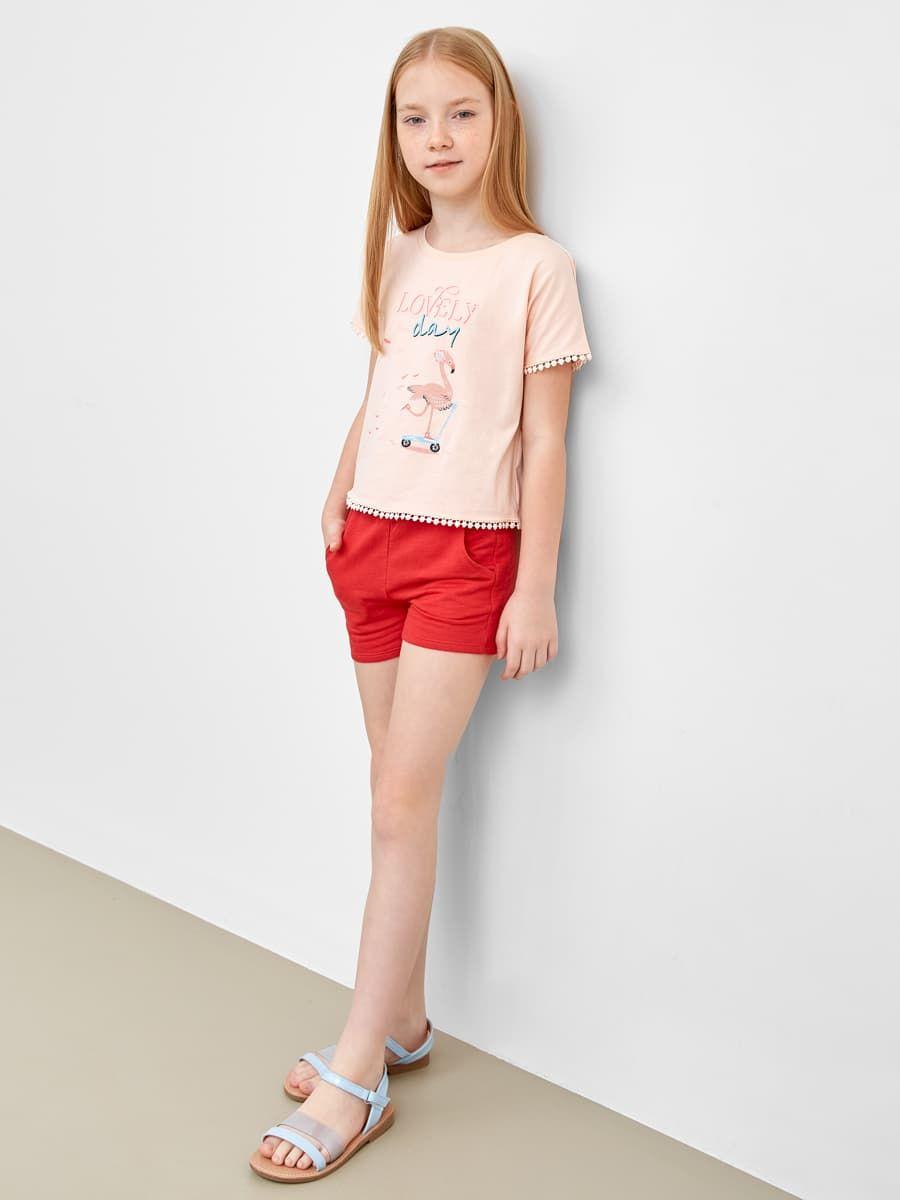 Короткие шорты для девочек от Mark Formelle