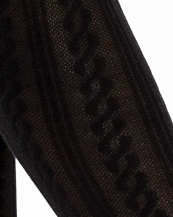 Фото 27 - ГЕТРЫ ЖЕНСКИЕ от Mark Formelle черного цвета