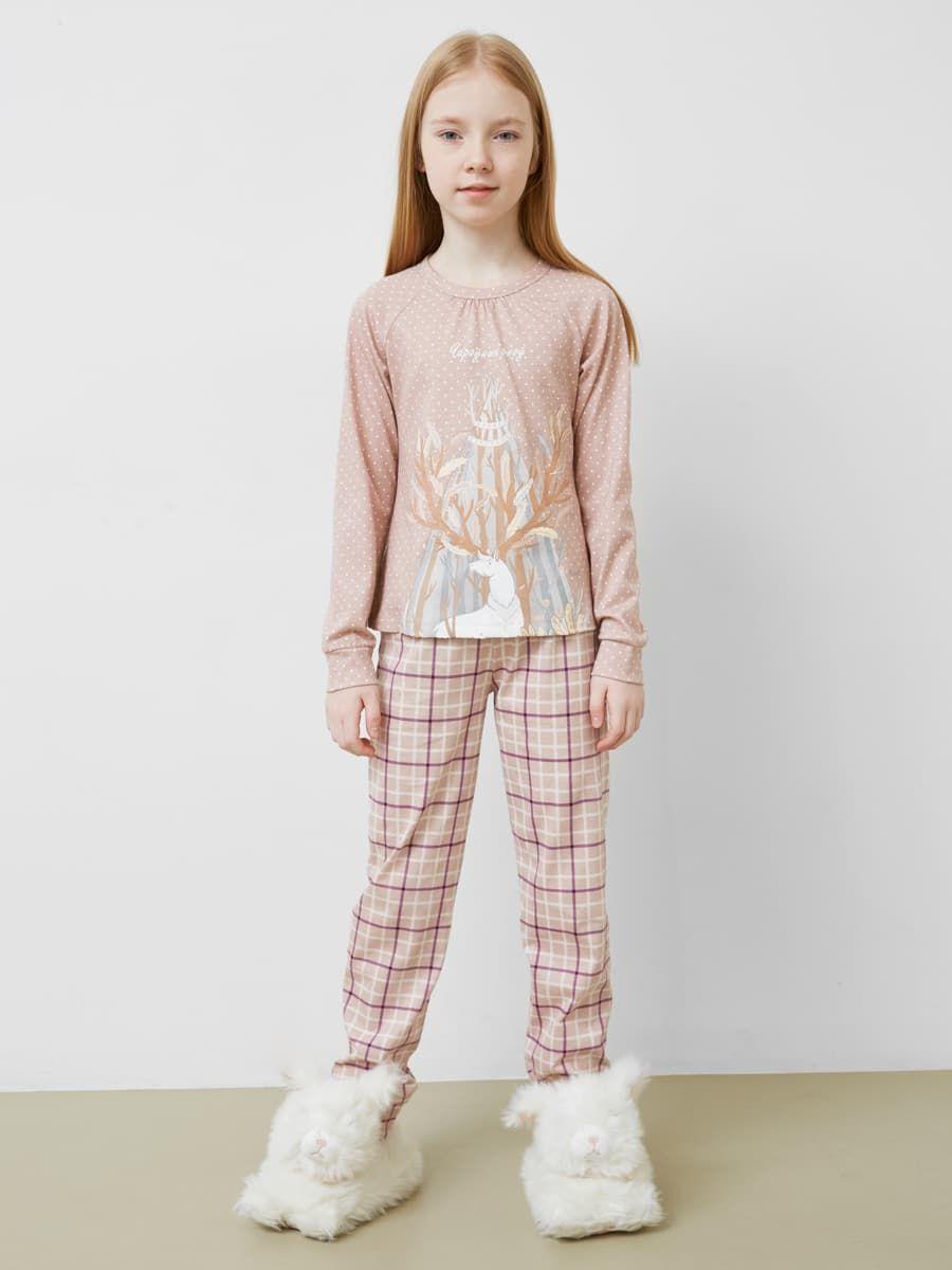 Пижамный комплект из джемпера и брюк от Mark Formelle