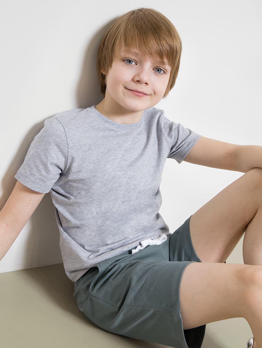 Хлопковые шорты до колена от Mark Formelle